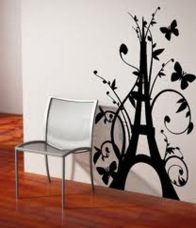 M s de 1000 ideas sobre decoraci n de torre eiffel en for Vinilos decorativos pared habitacion
