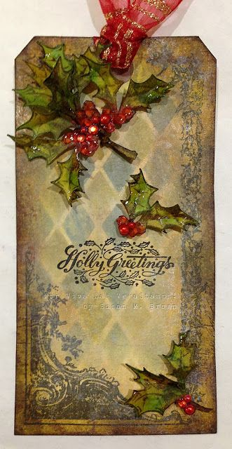 #christmas #holly #harlequin #greetings