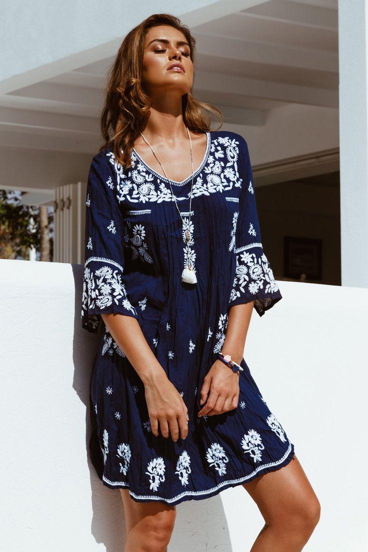 Lula Soul - Gardenia Dress - Navy