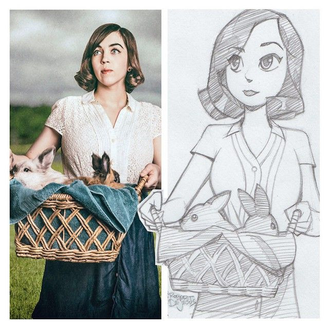 Os desenhos que esse artista faz das pessoas são tão impressionantes que parece que suas personalidades foram transferidas a eles.