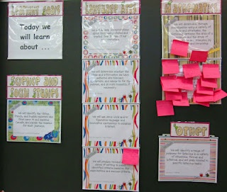 posting learning goals in the classroom @ Runde's Room  --H.A.  I don't know why this says there might be inappropriate content or spam--I didn't see any.