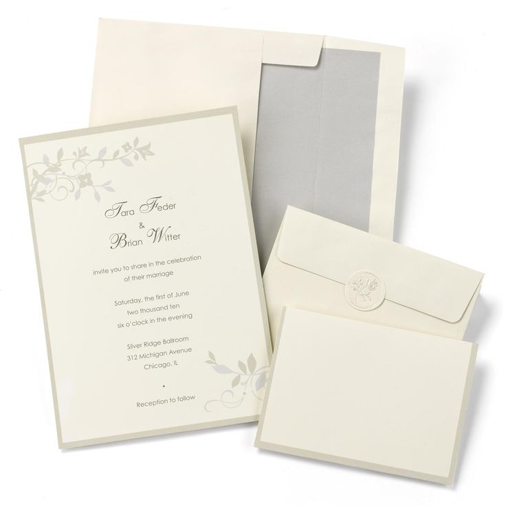 wedding invitation diy kits uk%0A Brown Vines Wedding Invitation Kit includes    of each  invitations  RSVP  cards  envelopes