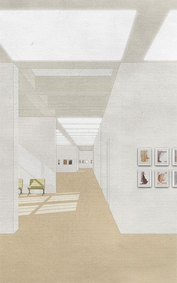 Nicolas Geißendörfer 展览空间的表达