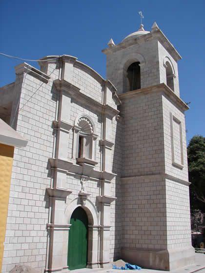 IGLESIA SAN AGUSTIN TORATA - Moquegua