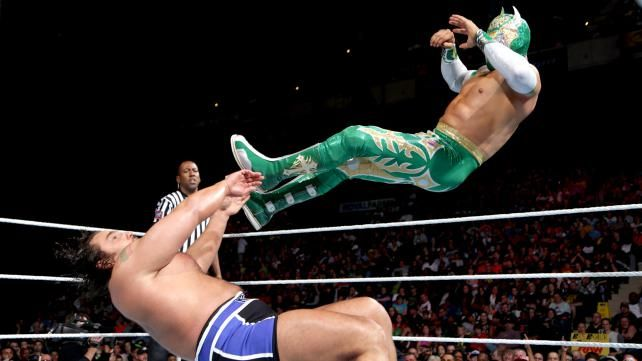 Sin Cara vs. Alexander Rusev: photos | WWE.com