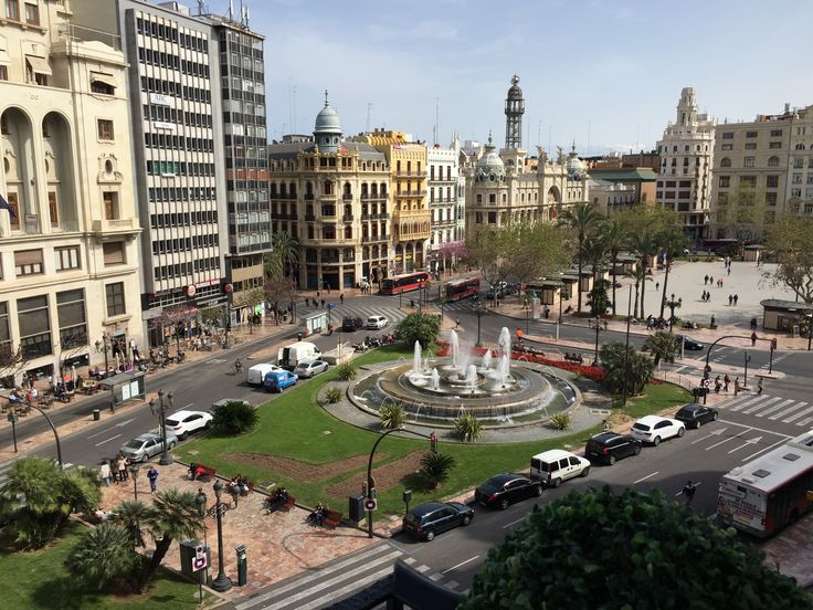 A Beautiful View Over the Main Plaza