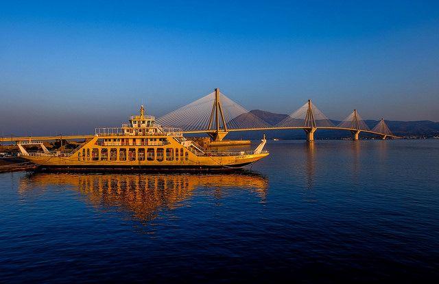 Η Γέφυρα του Ρίου το πρωί