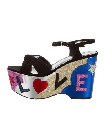 Saint Laurent 2017 Candy Love Sandals