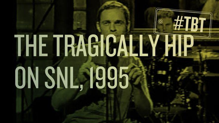 Throwback Thursday: The Tragically Hip on SNL, 1995 - CBC Music