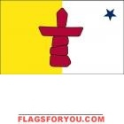 3' x 5' Nunavut High Wind, US Made Flag