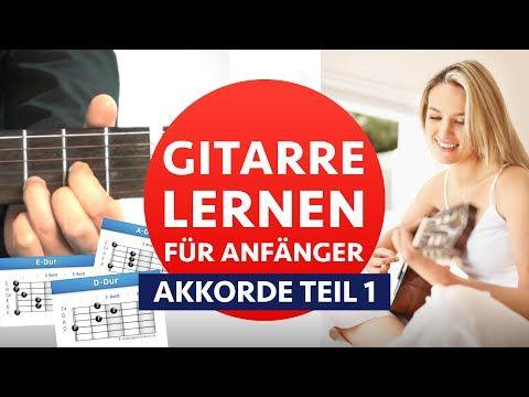 GITARRE LERNEN ANFÄNGER 1: Akkorde Greifen & Wechseln Lernen - YouTube