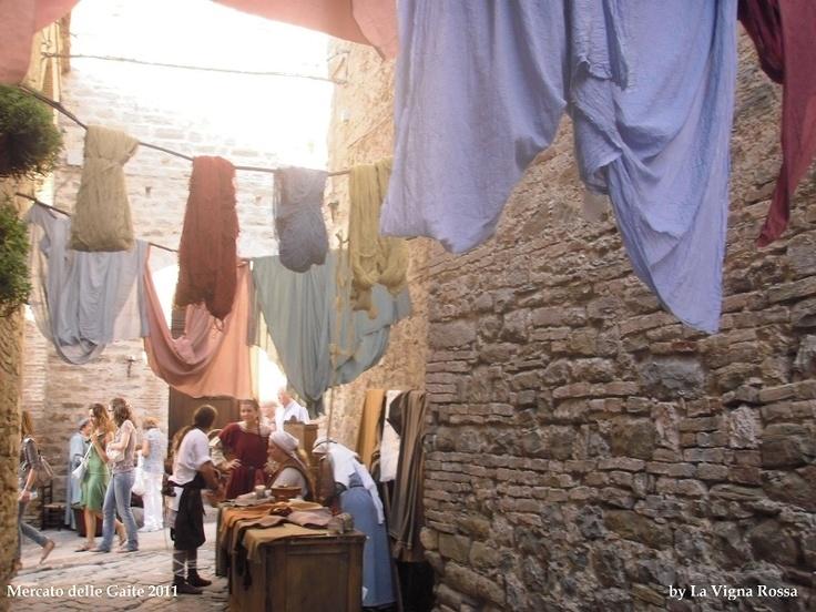 Mercato delle Gaite 2011  #Bevagna #Umbria #Italy