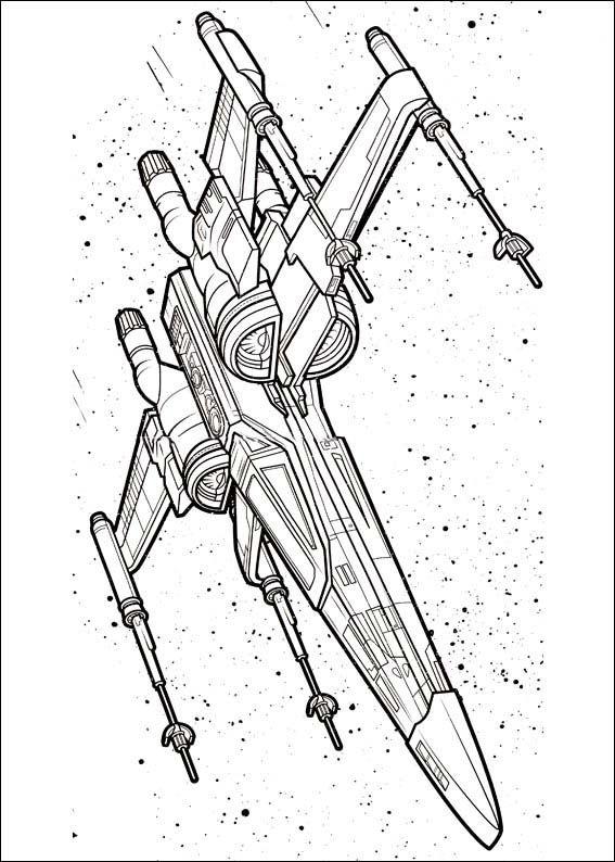 Star Wars The Force Awakens Printables 7 Dibujos De Star Wars Moto Para Colorear Tatuaje De Star Wars