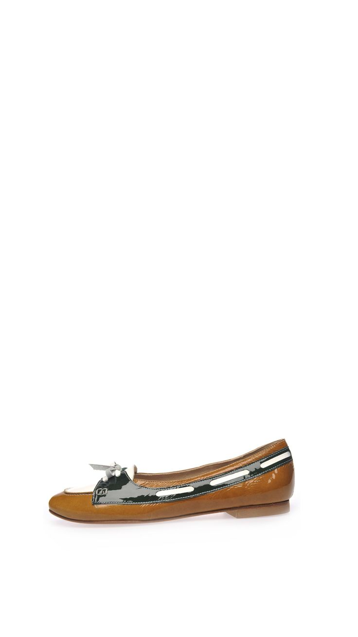 Hego's Patent loafers, 1 cm heel , leather sole