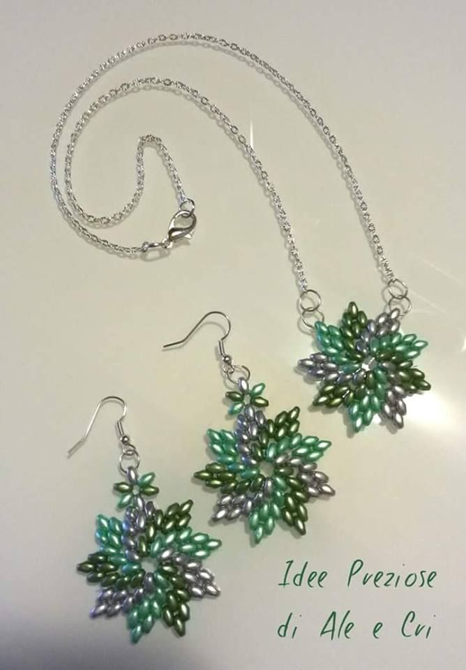 "Collane e Orecchini / necklace and earrings ""Idee Preziose di Ale e Cri"""
