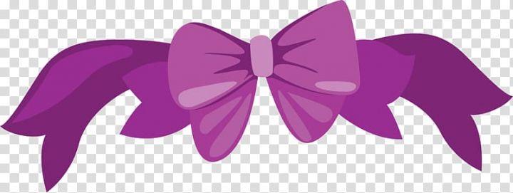 Butterfly Purple Ribbon Little Fresh Purple Bow Tie Transparent Background Png Clipart Purple Bow Tie Purple Bows Purple Ribbon
