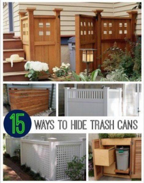 Hide Kitchen Trash Can Clever Ways To A 6