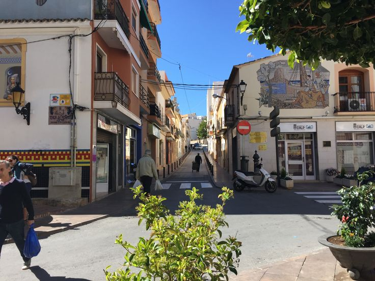 In The Old Town of Calpe By Marie Noonan. #OldTownCalpe