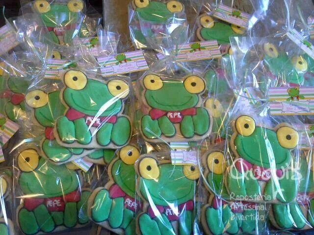 Sapo Pepe cookies