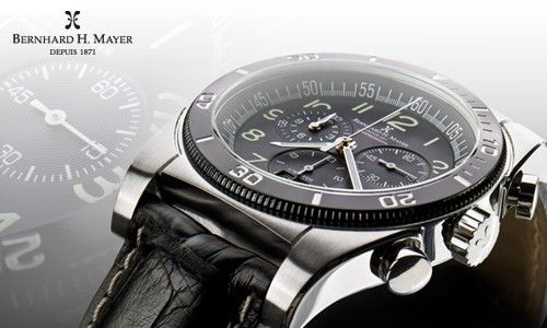 Chronomax Watch from Bernhard H. Mayer