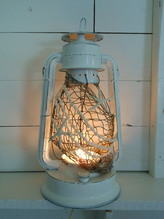 Hey, I found this really awesome Etsy listing at https://www.etsy.com/listing/157529834/vintage-nautical-lantern-white-with
