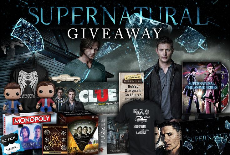 #Supernatural Fans Are DYING to win this HUGE Giveaway Pack of 15 Prizes! http://genrebuzz.com/giveaways/supernatural-fans-are-dying-to-win-this-huge-giveaway-pack-of-15-prizes/?lucky=126925 ends 1/13/2018