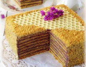 Торт «Кадриль» — необычное сочетание медовых коржей с черничным кремом! Очень рекомендую вам попробовать этот десерт, и насладится вкусовой феерией. Ингредиенты  Мука — 380 г. Сахар — 150 г. Яйцо — 2…