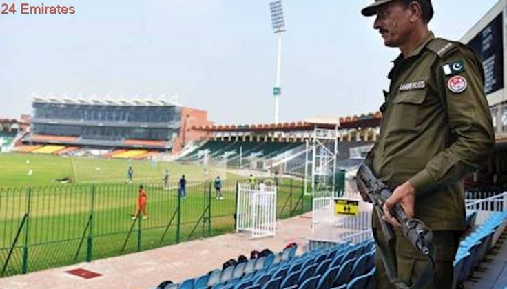 Gaddafi Stadium springs to life after eight years