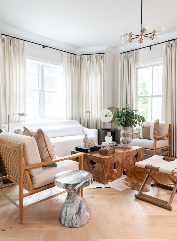 Mydomaine Neutral Living Room Neutral Modern Living Room Casual Living Rooms