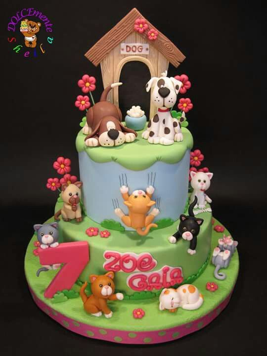 Cake Design With Dog : 189 best images about Cat Cakes on Pinterest Cats ...