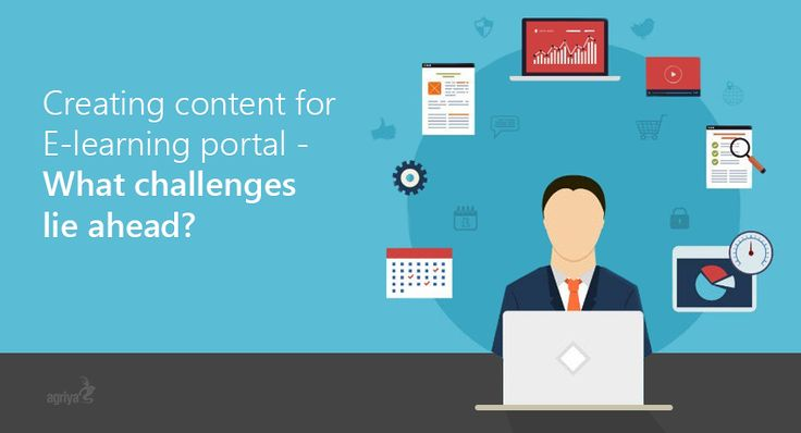 Content creation for e-learning portals & courses always remains a challenge in today's fast driven knowledge-oriented society. This article focuses on some of the intricate aspects and challenges which you have to focus on while developing online content.