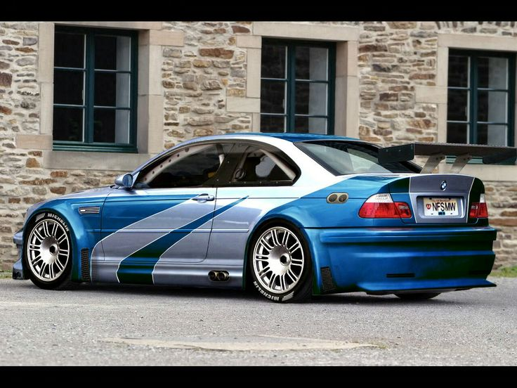 BMW M3 GTR from Need for Speed Most Wanted