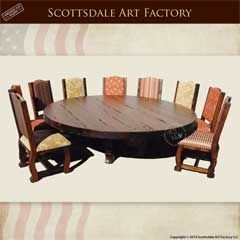 Round Dining Table | Castle Dining Table | Dining Room Sets