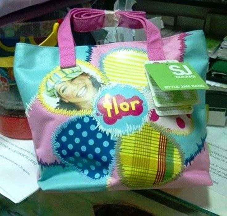 FLOR SEVEN JUNIOR borsa shopper bambina nuova con etichette