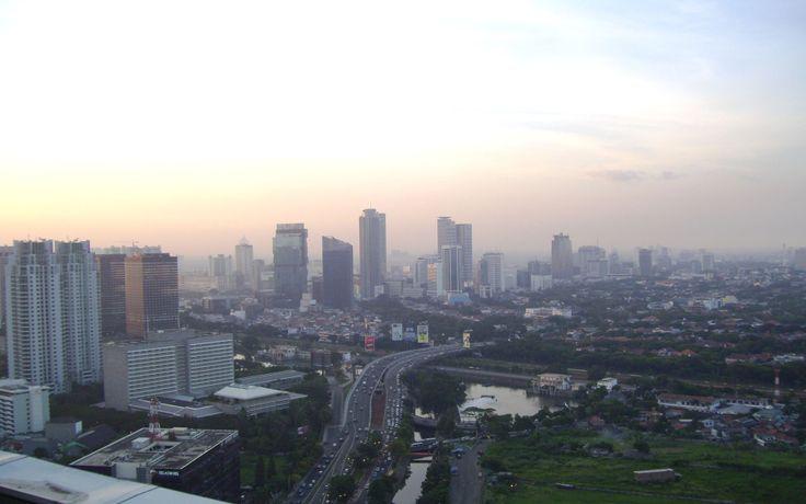 Jakarta Cityscape Indonesia Wallpaper