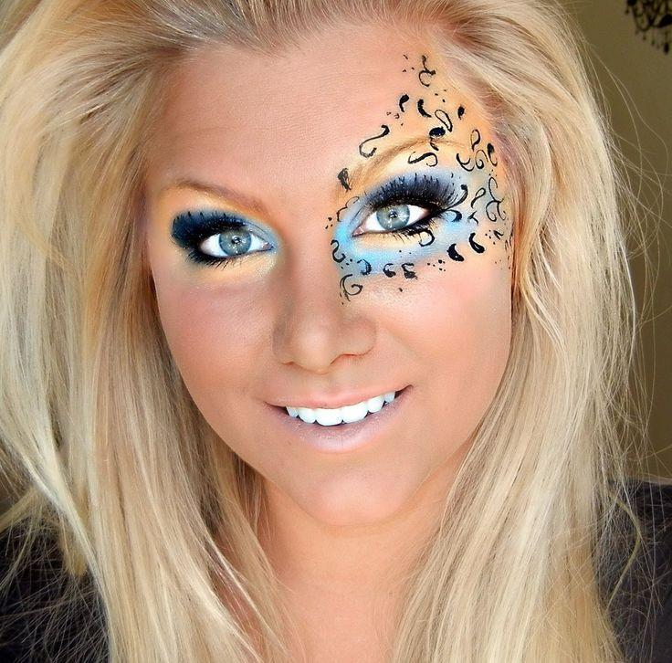 MARDI GRAS MAKEUP | mardi gras inspired makeup tutorial - YouTube
