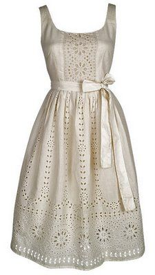 eyelet dress with sash. Love, Love, Love eyelet anything! country girl lace!!