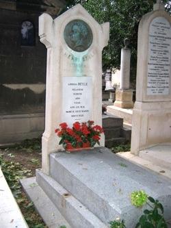 Stendhal, cimetière de Montmartre