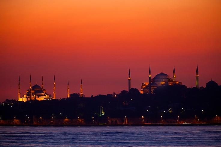 Istanbul Sultanahmet skyline