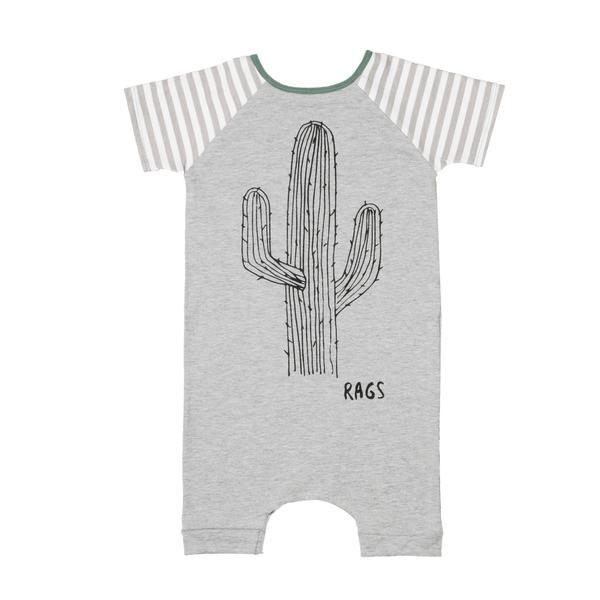 Short Sleeve Short Rag - 'Cactus' – Rags To Raches