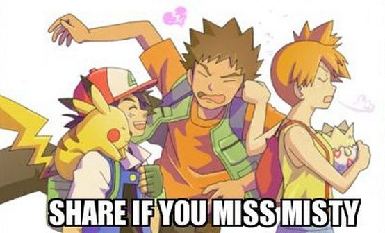 Man I just miss this part of the show.  Kanto, Orange Islands, Johto... now it's all weird and complicated and Ash won't age...