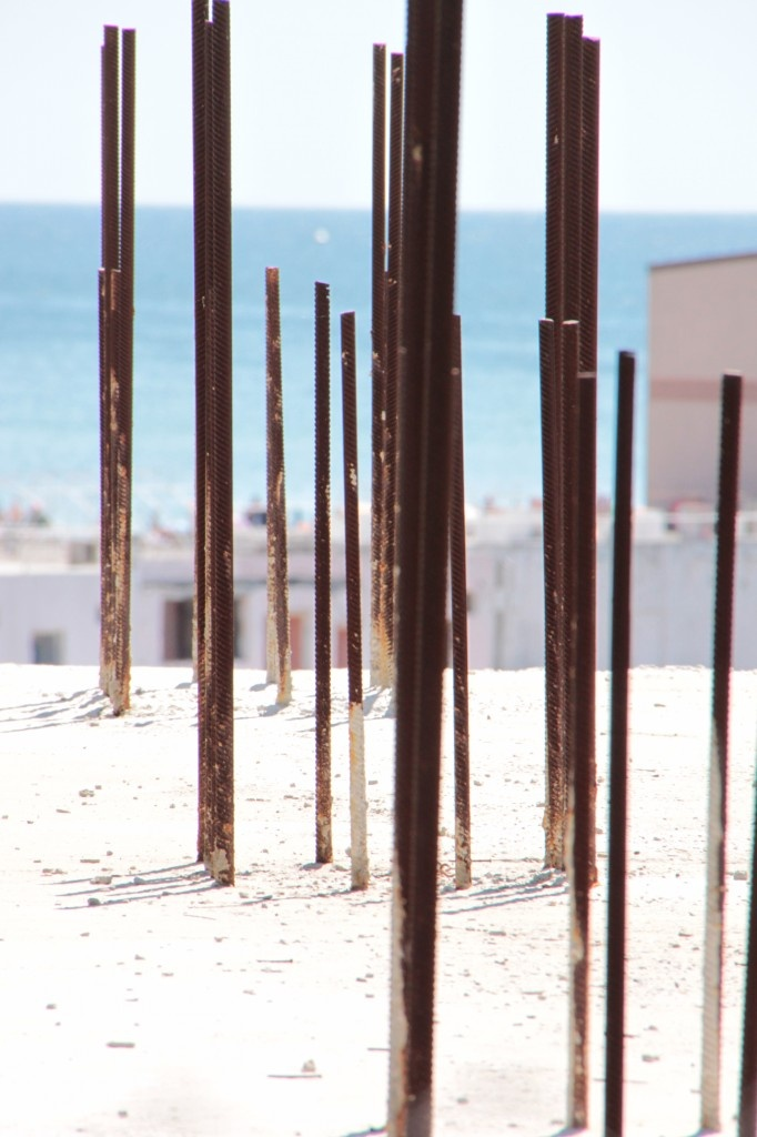 Rusty iron bars for reinforcement concrete - Public Domain Photos, Free Images for Commercial Use
