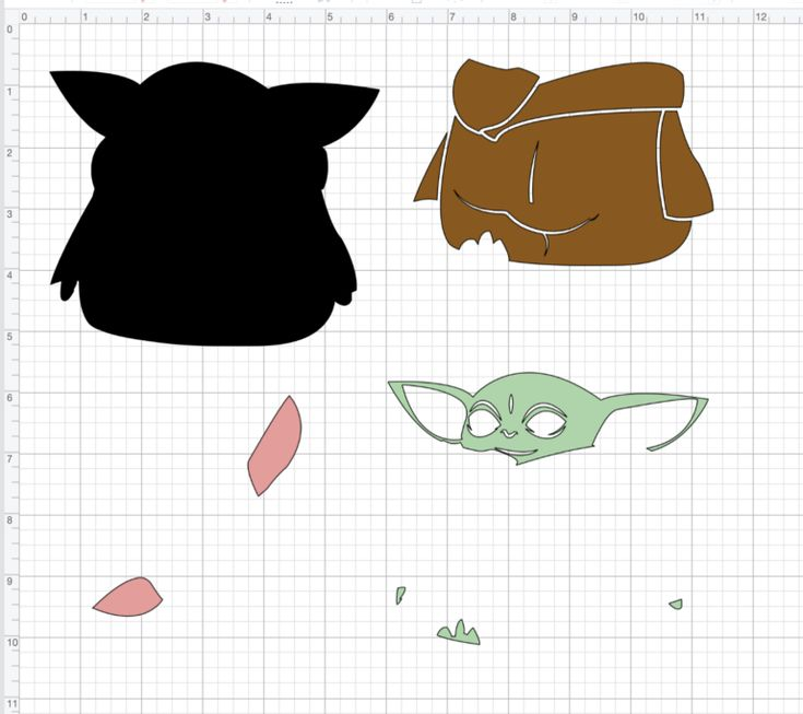 Download Baby Yoda SVG for Cricut in 2020 | Cricut crafts, Cricut ...