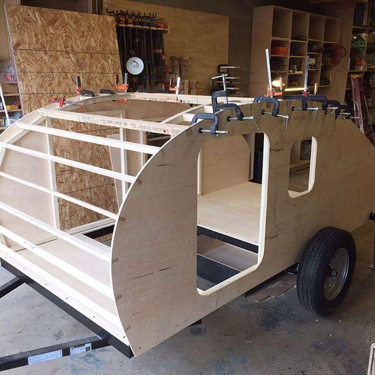 290 besten Build the Camper Bilder auf Pinterest | Teardrop camper ...