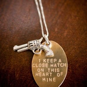 Johnny Cash Necklace from Robinson Lane! Absolutely! :) Love Johnny CASH! Great saying, Johnny, however a heart can become hard and cold~ one must be careful as one keeps a close watch! Oh, and Johnny~ remember one can't get love without giving love! Yep!