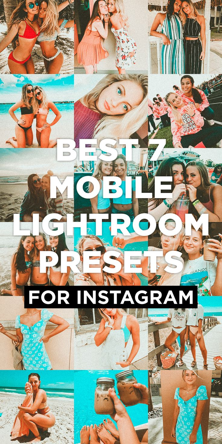 7 Mobile Lightroom Presets Arashi pics