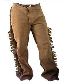 CUSTOM MADE RENDEZVOUS MOUNTAIN MAN BUCKSKIN PANTS Cow or Deer - made to order picclick.com