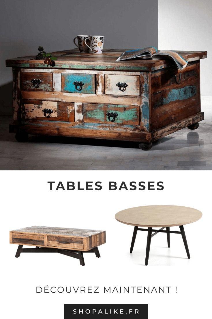 Tables Basses Table Basse Tendance Table Basse Table Basse Salon