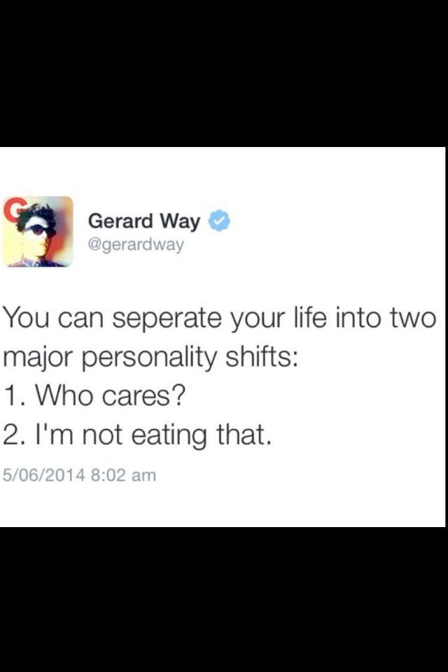 Gerard way gets it #twitter | MY CHEMICAL ROMANCE MCR | My ...