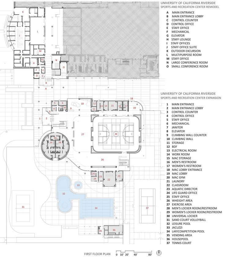 Gallery of UC Riverside Student Recreation Center Expansion / CannonDesign - 18